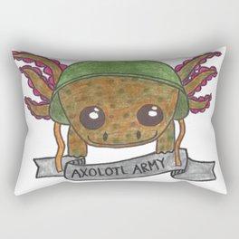 Wild Type Axolotl Rectangular Pillow