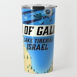 Lake Tiberias The Sea of Galilee Israel Art Print Travel Mug