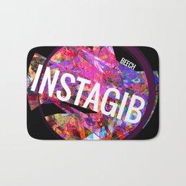 INSTAGIB Album Cover Bath Mat