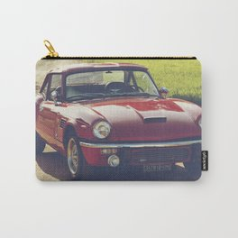Triumph spitfire, classic english sports car, hasselblad photo Carry-All Pouch