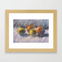 Still Life with Citrus Framed Art Print
