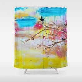 ''Summer Daze'' by Jolene Ejmont Shower Curtain