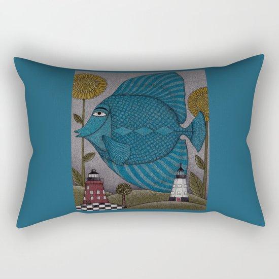 It's a Fish! Rectangular Pillow