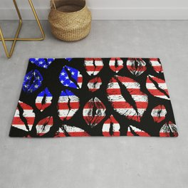 Kiss The Flag Rug