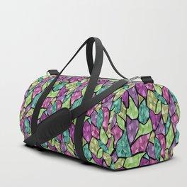 Abstract geometric pattern11 Duffle Bag