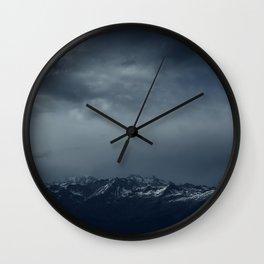 Full of snow Wall Clock