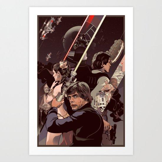 Duel of Fates Art Print