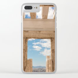Acropolis Doorway Clear iPhone Case