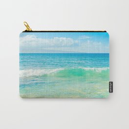 Ocean Blue Beach Dreams Carry-All Pouch