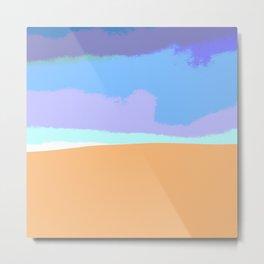 Sand dune desert sahara Metal Print