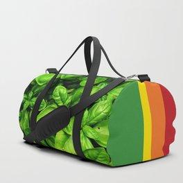 Raw Pesto Duffle Bag