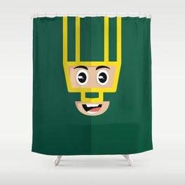 Kickass Shower Curtain