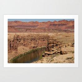 Colorado_River - Marble_Canyon II, Arizona Art Print