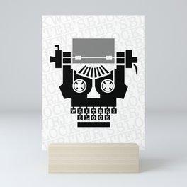 Writer's Block II Mini Art Print