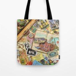 Vintage World Traveler Tote Bag