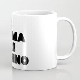 Less drama more techno Coffee Mug