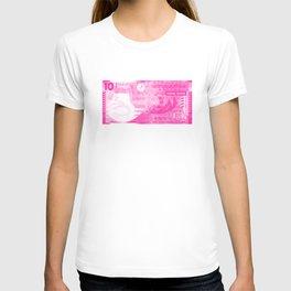 Graphic Hong Kong Dollar Screen Print T-shirt