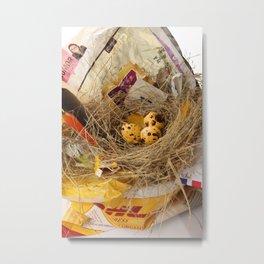 urban.nests.101 Metal Print