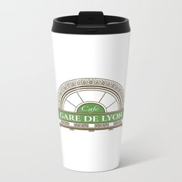 Café gare de Lion Metal Travel Mug