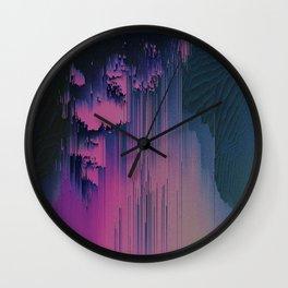 Pink Fringe Wall Clock