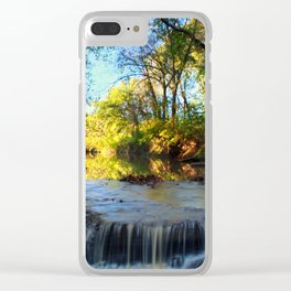 Falls at Prairie Creek Greenway Clear iPhone Case