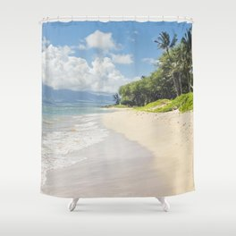 Kawililipoa Beach Kihei Maui Hawaii Shower Curtain