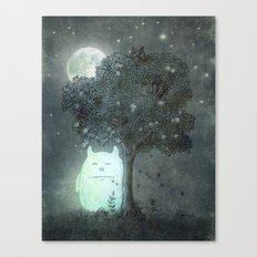 Full Moon Spirit  Canvas Print