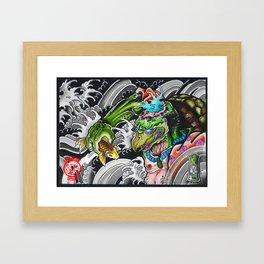kappa fisher Framed Art Print