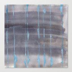 Grey Rain Canvas Print