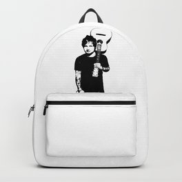 PORTRAIT OF A BRITISH ROCK MUSICIAN Backpack
