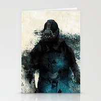 bane Stationery Cards featuring Abstract BANE by DesignLawrence