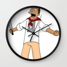 Andres Bonifacio Simpsons Style Wall Clock