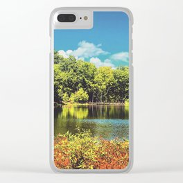 Ohrback Lake Clear iPhone Case