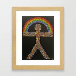 Indalo Framed Art Print
