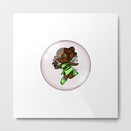 Layla/Aisha Bubble Metal Print