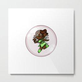 Layla/Aisha Bubble Metal Print