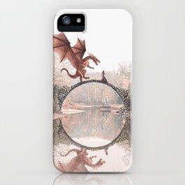 Dragon & Princess iPhone Case