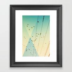 Cool World #3 Framed Art Print