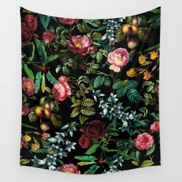 Floral Jungle Wall Tapestry