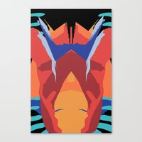 insect Canvas Prints featuring Insect by gdChiarts