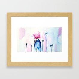 Princess Insomnia Framed Art Print