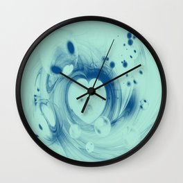 Heart glow Wall Clock