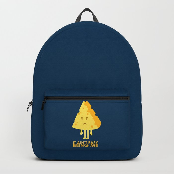 It ain't easy being cheesy Backpack