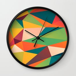 Geometric XIII Wall Clock