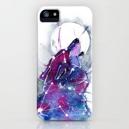 Galaxy Wolf iPhone Case