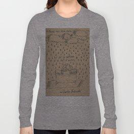 Bathtubs and Bukowski Long Sleeve T-shirt
