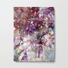Purple Expiration Metal Print