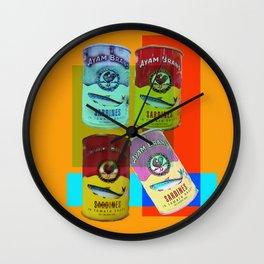 CANNED SARDINE Wall Clock