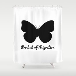 Product of Migration Shower Curtain