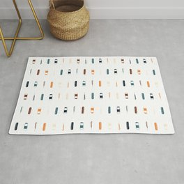 Vintage Vaccines - Small on White Rug